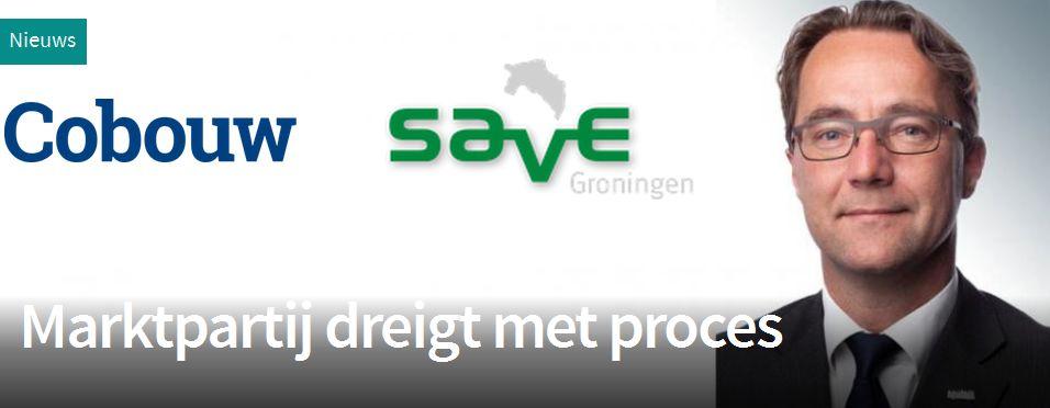 Save Groningen in Cobouw
